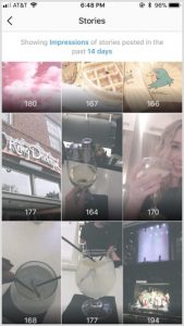 instagram-insights-stories-sorted-by-impressions