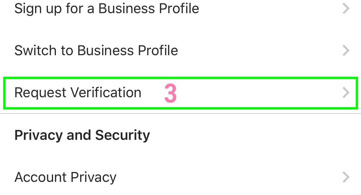 Get-Verified-Blue-Badge-Settings-Page
